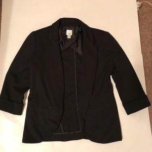 Lauren Conrad size 4 black blazer